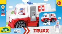 Auta Truxx sanitka v krabici