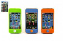 Vodní hra mobil/telefon hlavolam plast 11cm - mix variant či barev