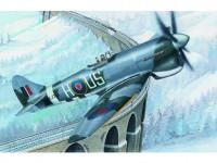 Model Hawker Tempest MK.V 14,2x17,3cm