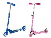 Detská kolobežka - ružová / modrá