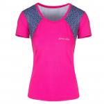 Spokey RAIN, fitness triko/T-shirt, krátký rukáv, růžové, vel. L