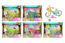 Kolo jízdní pro panenky 28cm + doplňky plast - mix variant či barev
