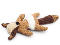 Plyšová hračka pre psov líška 25 cm, Domestic