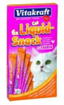 Vitakraft snack cat Liguid  taurin/kuře 6 x 15 g