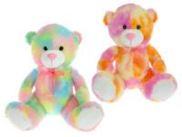 Medveď plyšový 50 cm sediaci - mix farieb