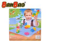 BanBao stavebnice Young Ones základná doska 25,5x25,5 cm modrá