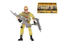 Voják 10 cm s doplňky - mix variant či barev