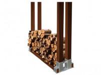 stojan na palivové drevo 340x150mm Zn (1ks)
