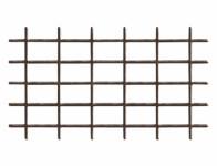 Grid FERRO metal brown V 0.75x1.45m 4-4.7mm - VÝPREDAJ