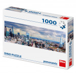 Puzzle 1000 dílků: Pohled na londýn panoramic