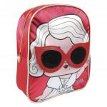 Detský batôžtek 3D LOL Červeno / ružový