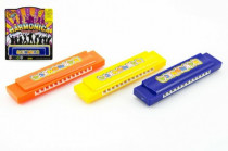 Harmonika plast 13cm - mix barev