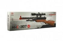 Pištoľ skladacie plast 47cm na penové náboje i vodné guličky 4v1