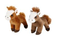 Kôň plyšový 13 cm - mix farieb