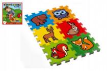Penové puzzle Moja prvá lesné zvieratká 6ks MPZ