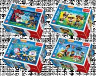 Minipuzzle 54 dielikov Paw Patrol / Tlapková Patrola 4 druhy