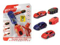 Autíčko s vystreľovacie rampou Turbo shooter - mix variantov či farieb