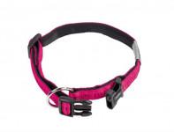 Obojok nylon soft Grip - tmavo ružový Nobby 1,5 x 25-35 cm