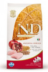 N & D Low Grain DOG Adult Mini Chicken & Pomegr 2,5kg