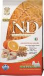 N & D Low Grain Dog Adult Mini Codfish & Orange 0,8 kg