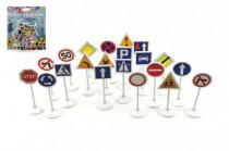 Dopravní značky plast 7cm