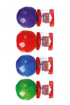 Hračka pes KONG Lopta pískacie L 8cm mix farieb