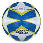 Spokey MVOLLEY Volejbalová lopta modrý rozm. 5