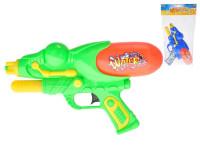 Vodní pistole plast 29cm s pumpou - mix barev