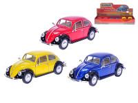 VW Beetle Classic 1967 1:24 kov volný chod - mix barev