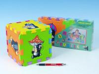 Pěnové puzzle Krtek 15x15cm - mix variant či barev