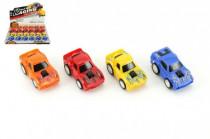 Auto/Autíčko plast 6cm na zpětné natažení - mix barev