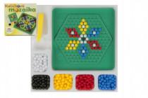 Mozaika kuličková malá 250 ks plast 12x12cm