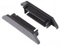 zakončenie lišty 1,7x10,5x2,5cm BlackHook záves. systém G21