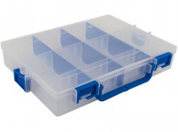 organizér IDEAL BOX XL 285x212x47mm TRA / MO sv.